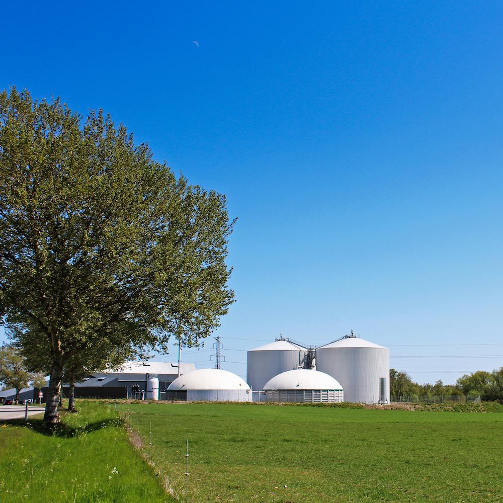 Solrød Biogas kvadrat